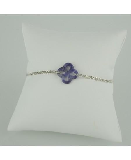 Bracelet Ilargia Argent Sodalite