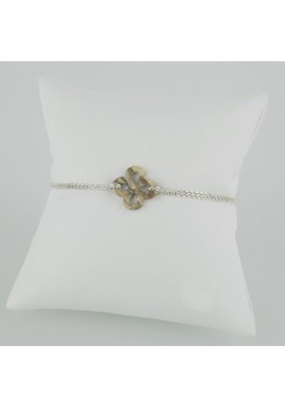 Bracelet Ilargia Argent Jaspe