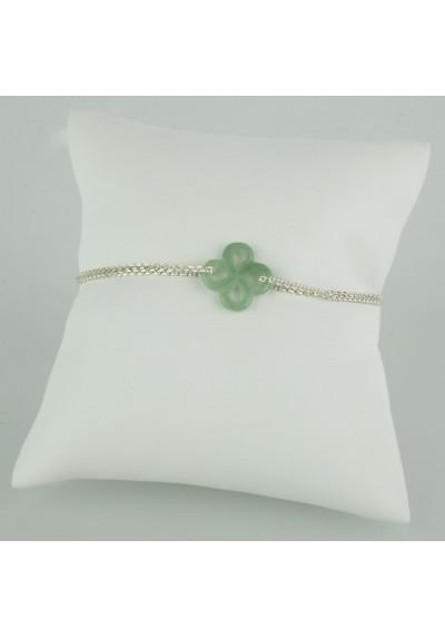 Bracelet Ilargia Argent Aventurine