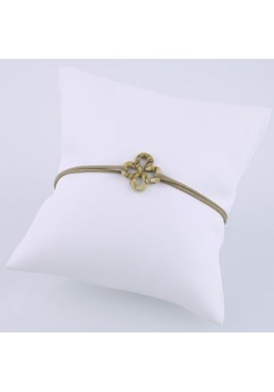 Bracelet Ilargia jaspe sur cordon