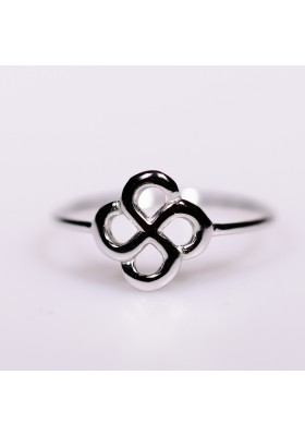Bague  Luma or gris 750