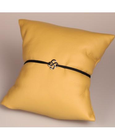 Bracelet Luma or blanc 750