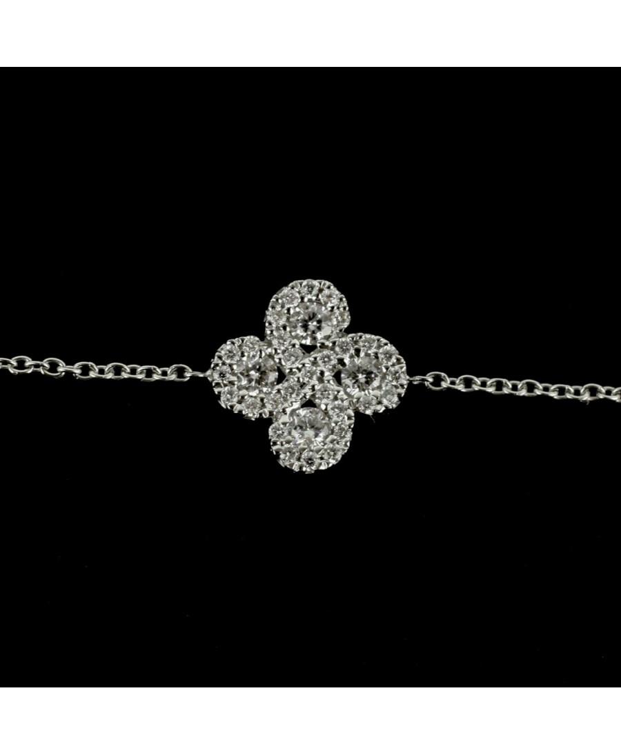 Bracelet Argia  diamants or blanc