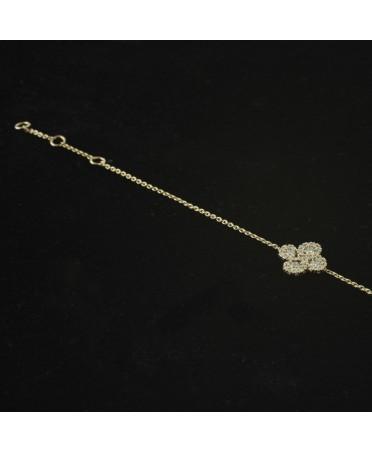 Bracelet Argia  diamants or rose