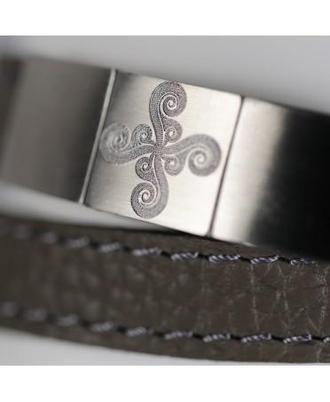 Bracelet Larrua lauburu maori